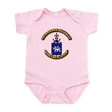 COA - 68th Armor Regiment Infant Bodysuit
