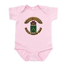 COA - 70th Armor Regiment Infant Bodysuit
