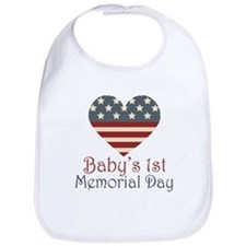 Baby's 1st Memorial Day Bib