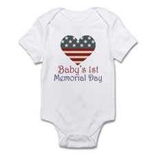 Baby's 1st Memorial Day Onesie