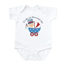 1st Memorial Day Infant Bodysuit