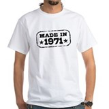 Made In 1971 Shirt