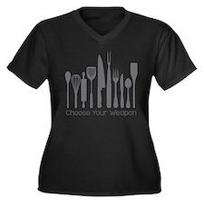 Choose Your Weapon Plus Size T-Shirt