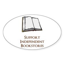 Support Independent Bookstores Decal