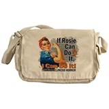 If Rosie Can Do It MS Messenger Bag