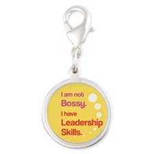 Not Bossy. Leader. Charms