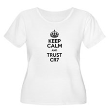 Keep Calm and Trust CR7 Plus Size T-Shirt