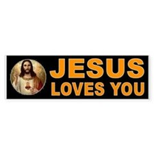 JESUS SAVIOUR Bumper Bumper Sticker