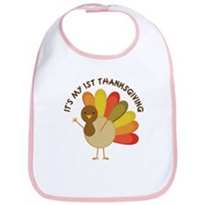 It's My 1st Thanksgiving Bib
