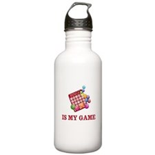 BINGO IS MY GAME Water Bottle