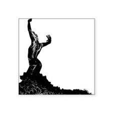 "Flamenco dancer - bailaora Square Sticker 3"" x 3"""