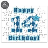 Happy 14th Birthday! Puzzle