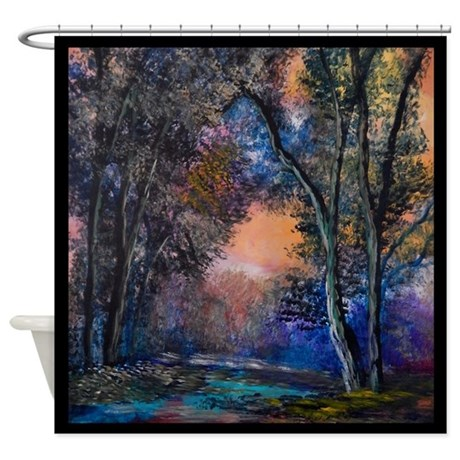 Beautiful Fall Colors Shower Curtain By AnnaRay