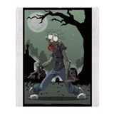 Zombie Undead Throw Blanket