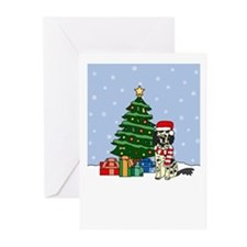 English Setter Christmas Greeting Cards (Pk of 10)
