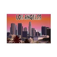 Los Angeles Rectangle Magnet