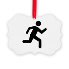 Running person Ornament