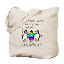 Autism Only Different Tote Bag