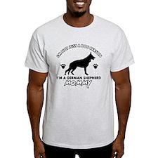German Shepherd dog breed designs T-Shirt