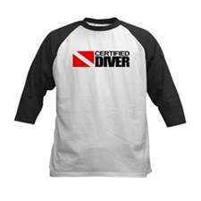 Certified Diver Baseball Jersey