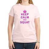 KEEP CALM AND SQUAT T-Shirt