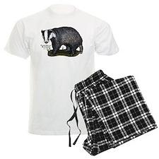 European Badger pajamas