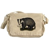 European Badger Messenger Bag