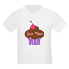 Personalized Cupcake T-Shirt
