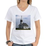 Lil' Country Church Women's V-Neck T-Shirt