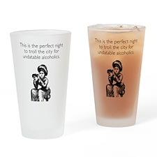 Undatable Alcoholics Drinking Glass