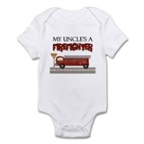 My Uncle's A Firefighter Infant Bodysuit