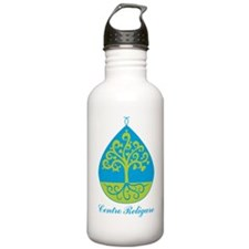 cenro religare logo color Water Bottle