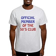 50th Birthday Official Member T-Shirt