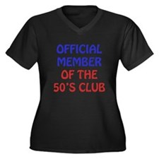 50th Birthday Official Member Women's Plus Size V-