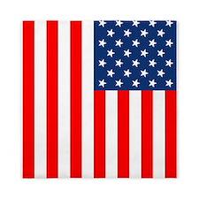 American Flag Queen Duvet
