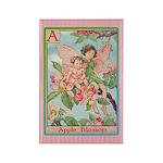 Apple Blosson Fairy Rectangle Magnet