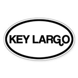 Key Largo Decal