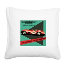 Aston Martin: Centennial Square Canvas Pillow