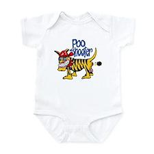Cute Poo shooter Infant Bodysuit