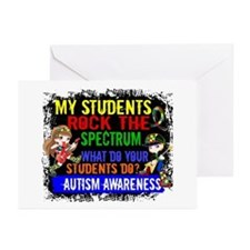 Rock Spectrum Autism Greeting Cards (Pk of 20)