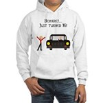 CAUTION 16 YEARS OLD Hooded Sweatshirt