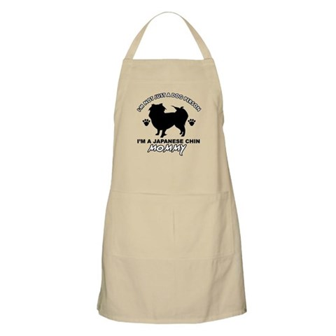 Japanese Chin dog breed designs Apron