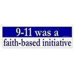 Faith Based Initiative Bumper Sticker