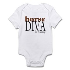 Horse Diva In Training Infant Bodysuit