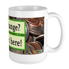 Fear Change Tip Jar Mug