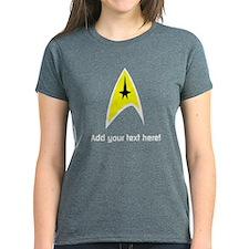 Custom Star Trek Insignia Tee