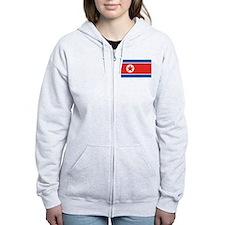 North Korea Zip Hoodie