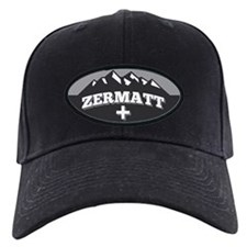 Zermatt Grey Baseball Hat