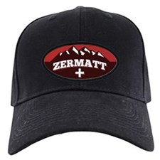 Zermatt Red Baseball Hat