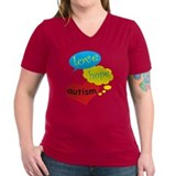 Love,hope,Autism T-Shirt